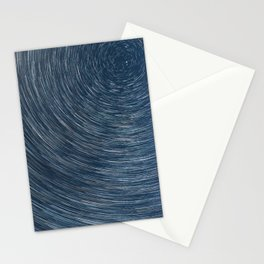 Earth's Rotation Stationery Cards
