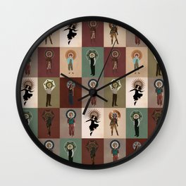 The Saints of Serenity Wall Clock