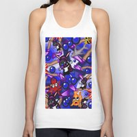 scuba Tank Tops featuring Scuba by Mark Greulach