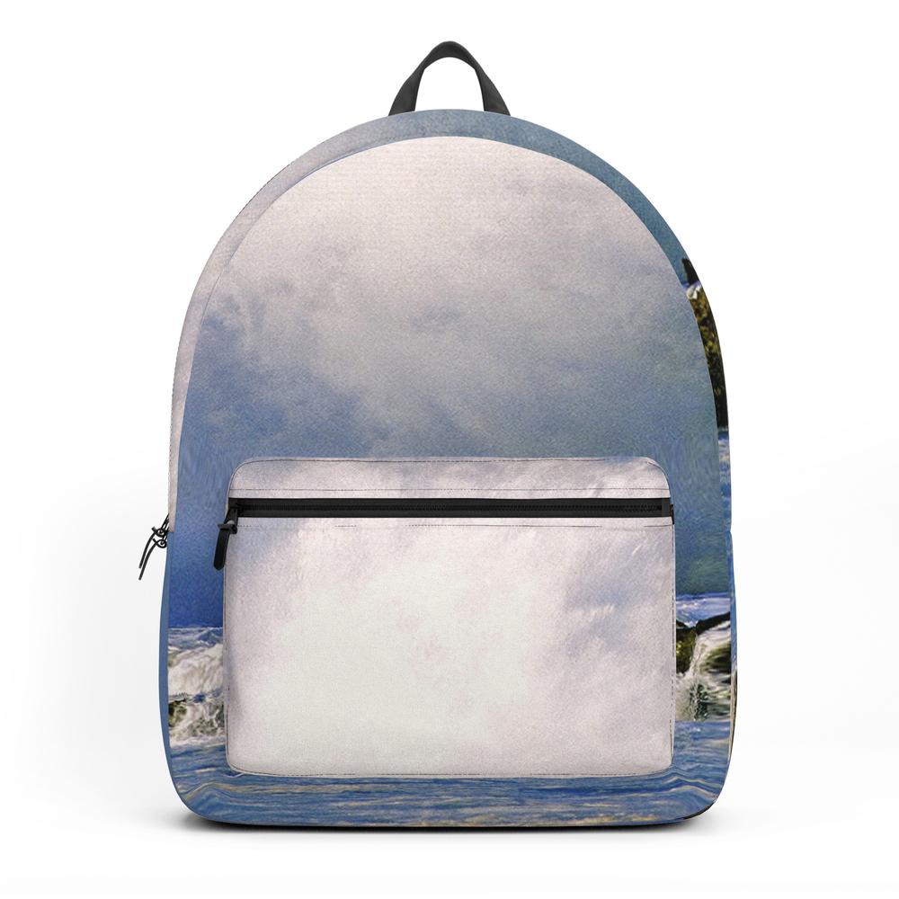 """Ocean Waves """"table Tops"""" Backpack by stormprooffilms"""