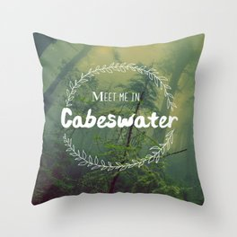 Meet me in Cabeswater Throw Pillow