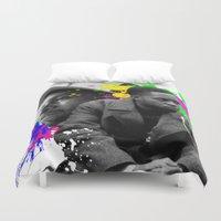 infinity Duvet Covers featuring Infinity by Kerosene Bill