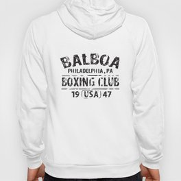 Balboa Boxing Club Rocky Movie Philly Retro Work Out Gym T-Shirts Hoody