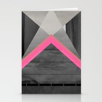 pyramid Stationery Cards featuring pyramid by Georgiana Paraschiv