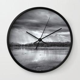 Birdland BW Wall Clock