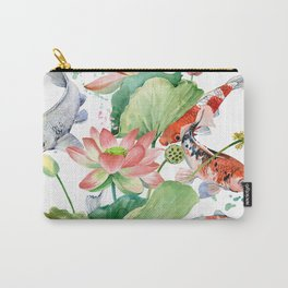 koi carp fish Carry-All Pouch