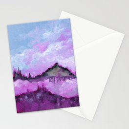 Mythic Mountains Stationery Cards