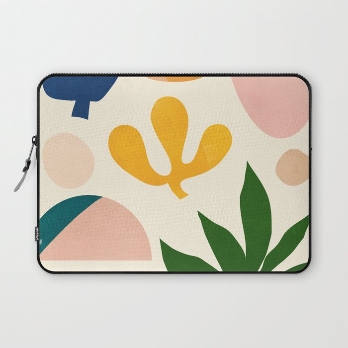 Abstraction_Floral_001 Laptop Sleeve
