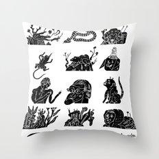 flflf Throw Pillow