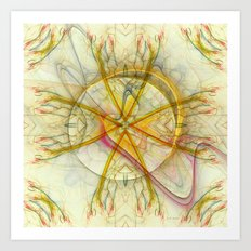 From The Center Of The Soul Art Print