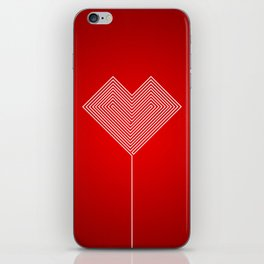 Heart Labyrinth iPhone Skin
