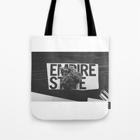 medical Tote Bags featuring empire medical by fat dominic
