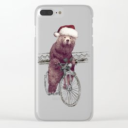 A Barnabus Christmas Clear iPhone Case