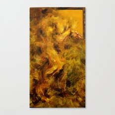 Yellowed Male Canvas Print