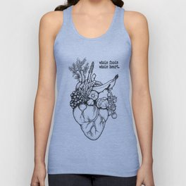 Whole foods, whole heart Unisex Tank Top