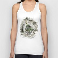archan nair Tank Tops featuring Dragon of The Mist by Michael Hammond