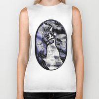 mother Biker Tanks featuring Mother by Christa Bethune Smith