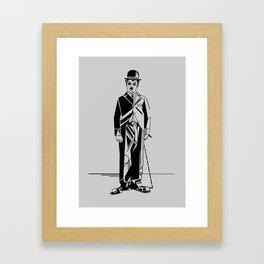 Charlie Chaplin Framed Art Print