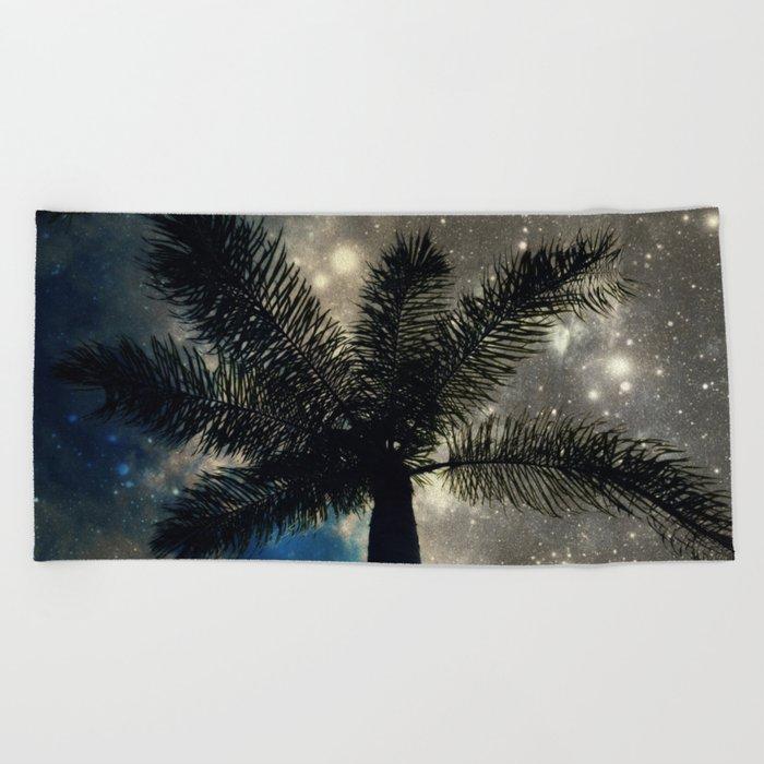 the half  Beach Towel