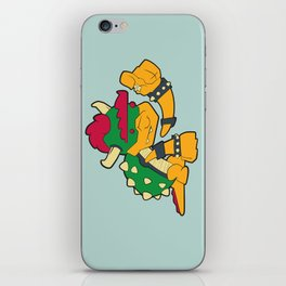 Bowser iPhone Skin