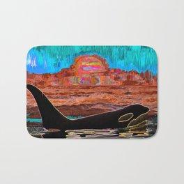 Orca Sunset Bath Mat