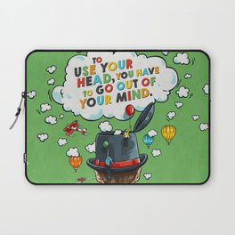 Use Your Head Laptop Sleeve