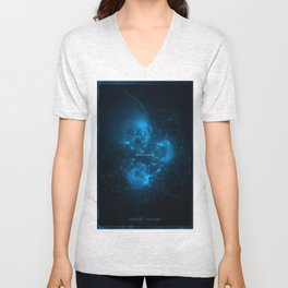 Space Queen Unisex V-Neck