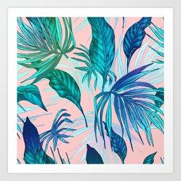 Pink in Paradise Art Print