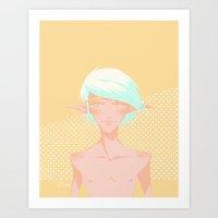 elf Art Prints featuring Elf by kkomi