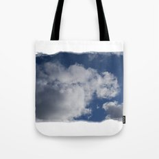 Clouds Over Hill Tote Bag