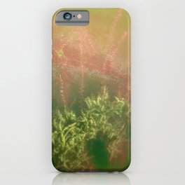 Underwater plants. Krka National Park, Croatia iPhone Case