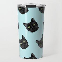 Black Cat Appreciation Day Travel Mug