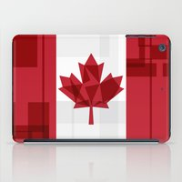 canada iPad Cases featuring O Canada by Fimbis