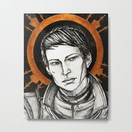 Ladies of Dragon Age: Cassandra Metal Print