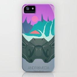 Andromeda Travels - Glacier iPhone Case