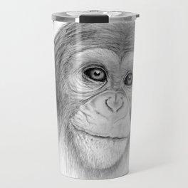 A Chimpanzee :: Not Monkeying Around Travel Mug