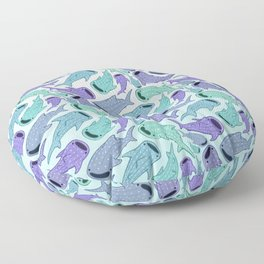 Whale Sharks Floor Pillow