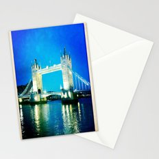 I love Tower Bridge Stationery Cards