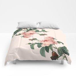 Butterflies in the Rose Garden Comforters
