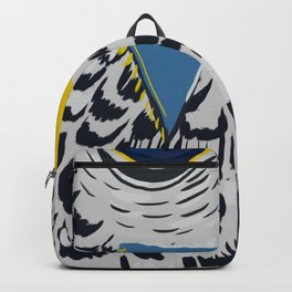 Abstract Falcon // Multi-Colored Backpack