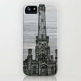 Triptych 2 - Water Tower iPhone Case