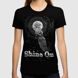 Shine On Moon Goddess T-shirt