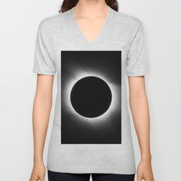 Solar Eclipse Unisex V-Neck