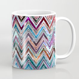 Galaxy Chevron Coffee Mug