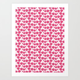 Cherry blossom pattern Art Print