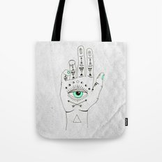 EYE SEE HAMSA Tote Bag