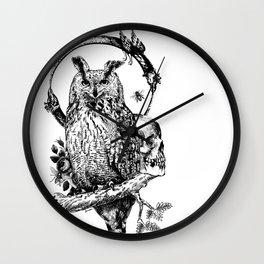 Owl-ing Wall Clock