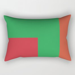Very squared and precise and rectangular. Very very angular crafted shapes. Nothing else to say. Rectangular Pillow