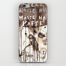 Must Have Coffee iPhone & iPod Skin