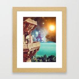On Honeymoon... Framed Art Print